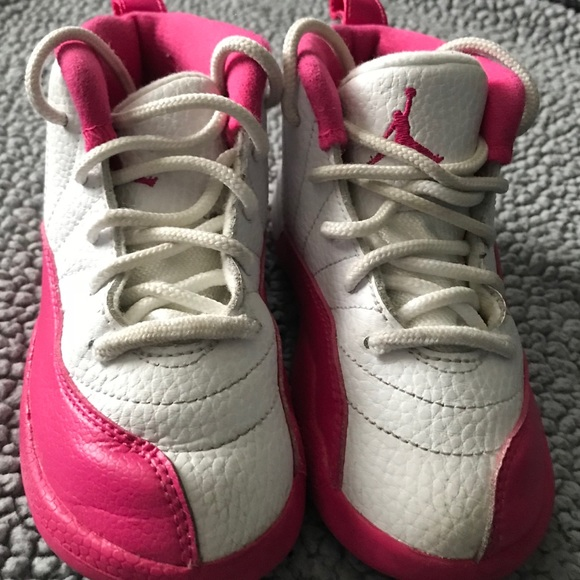 get cheap 2e3c2 edc11 Toddler Girls Jordan Retro 12